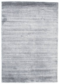 Bamboo シルク ルーム - Denim 青 絨毯 120X180 モダン 薄い灰色/水色 ( インド)