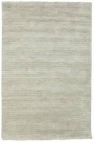ハンドルーム Fringes - グレー/薄緑色 絨毯 120X180 モダン 薄い灰色/薄茶色 (ウール, インド)