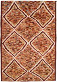 Barchi/Moroccan Berber 絨毯 197X292 モダン 手織り 深紅色の/赤 (ウール, アフガニスタン)