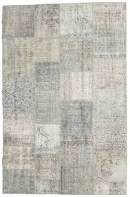 パッチワーク 絨毯 196X302 モダン 手織り 薄い灰色/暗めのベージュ色の (ウール, トルコ)