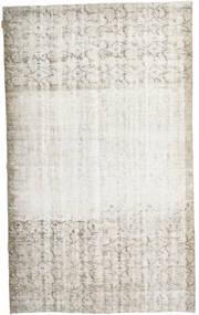 カラード ヴィンテージ 絨毯 160X267 モダン 手織り 薄い灰色/暗めのベージュ色の/ホワイト/クリーム色 (ウール, トルコ)