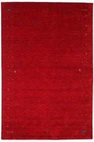 ギャッベ ルーム Frame - 赤 絨毯 190X290 モダン 赤/深紅色の (ウール, インド)