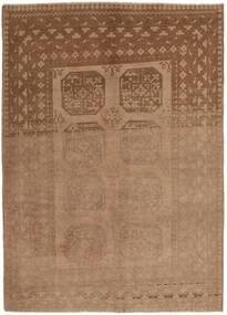 アフガン 絨毯 154X236 オリエンタル 手織り 茶 (ウール, アフガニスタン)