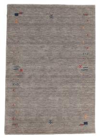 ギャッベ ルーム Frame - グレー 絨毯 140X200 モダン 薄い灰色/濃いグレー (ウール, インド)