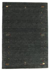 ギャッベ ルーム Frame - 濃いグレー/グリーン 絨毯 160X230 モダン 深緑色の (ウール, インド)