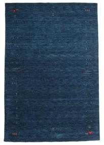 ギャッベ ルーム Frame - 紺色の 絨毯 190X290 モダン 紺色の (ウール, インド)
