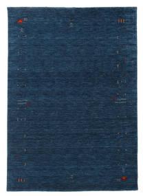 ギャッベ ルーム Frame - 紺色の 絨毯 160X230 モダン 紺色の (ウール, インド)