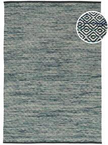 Hugo - Petrol 絨毯 160X230 モダン 手織り 黒/薄い灰色 ( インド)