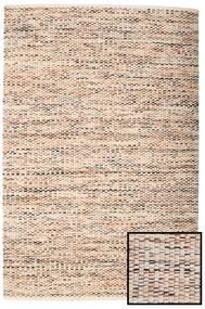 Pebbles - Multi 絨毯 140X200 モダン 手織り 薄い灰色/濃い茶色 ( インド)