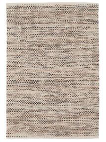 Pebbles - 茶 Mix 絨毯 140X200 モダン 手織り 薄い灰色/ベージュ ( インド)