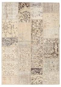 パッチワーク 絨毯 143X203 モダン 手織り 薄い灰色/ベージュ (ウール, トルコ)