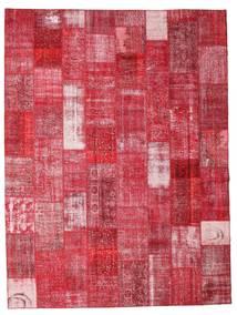 パッチワーク 絨毯 301X400 モダン 手織り 赤/錆色 大きな (ウール, トルコ)