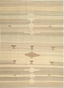キリム モダン 絨毯 212X296 モダン 手織り ベージュ/暗めのベージュ色の (ウール, ペルシャ/イラン)
