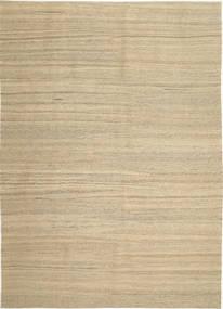 キリム モダン 絨毯 210X297 モダン 手織り ベージュ/薄い灰色 (ウール, ペルシャ/イラン)