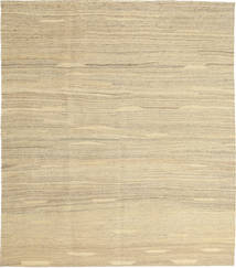 キリム モダン 絨毯 157X183 モダン 手織り 暗めのベージュ色の/ベージュ (ウール, ペルシャ/イラン)