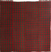 キリム モダン 絨毯 195X208 モダン 手織り 正方形 深紅色の/深緑色の (ウール, ペルシャ/イラン)