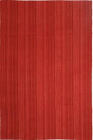 キリム モダン 絨毯 202X307 モダン 手織り 錆色 (ウール, ペルシャ/イラン)