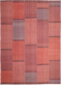 キリム モダン 絨毯 209X298 モダン 手織り 錆色/深紅色の (ウール, ペルシャ/イラン)