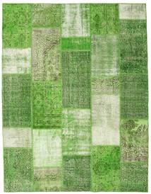 パッチワーク 絨毯 202X257 モダン 手織り ライトグリーン/オリーブ色 (ウール, トルコ)