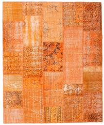 パッチワーク 絨毯 201X246 モダン 手織り オレンジ/暗めのベージュ色の (ウール, トルコ)