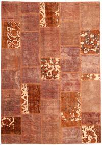 パッチワーク 絨毯 166X243 モダン 手織り 赤/深紅色の (ウール, ペルシャ/イラン)