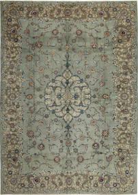 カシャン パティナ 絨毯 297X420 オリエンタル 手織り 濃いグレー/薄い灰色 大きな (ウール, ペルシャ/イラン)