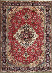 タブリーズ パティナ 絨毯 203X288 オリエンタル 手織り 深紅色の/濃い茶色 (ウール, ペルシャ/イラン)