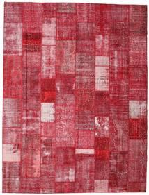 パッチワーク 絨毯 303X400 モダン 手織り 赤/錆色 大きな (ウール, トルコ)