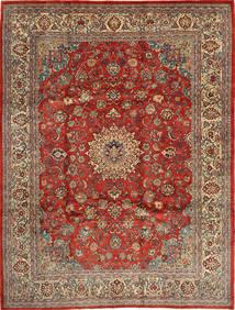 マハル 絨毯 270X363 オリエンタル 手織り 薄茶色/茶 大きな (ウール, ペルシャ/イラン)