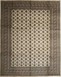 アフガン ナチュラル 絨毯 282X351 オリエンタル 手織り 薄い灰色/濃いグレー/薄茶色 大きな (ウール, アフガニスタン)