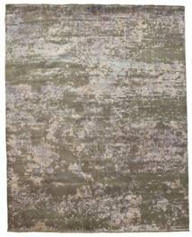 Damask 絨毯 242X304 モダン 手織り 薄い灰色/濃いグレー ( インド)