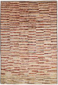 Barchi/Moroccan Berber 絨毯 189X291 モダン 手織り 濃い茶色/深紅色の (ウール, アフガニスタン)