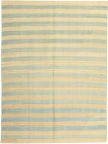 キリム モダン 絨毯 151X204 モダン 手織り ベージュ/暗めのベージュ色の (ウール, ペルシャ/イラン)