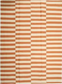 キリム モダン 絨毯 232X315 モダン 手織り ベージュ/オレンジ (ウール, ペルシャ/イラン)