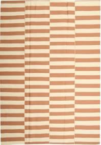 キリム モダン 絨毯 221X313 モダン 手織り ベージュ/薄茶色 (綿, ペルシャ/イラン)