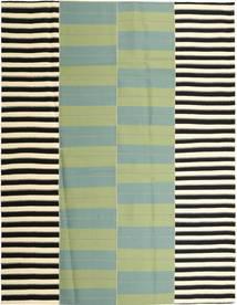キリム モダン 絨毯 235X304 モダン 手織り パステルグリーン/ライトグリーン (綿, ペルシャ/イラン)