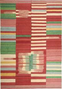 キリム モダン 絨毯 223X323 モダン 手織り 深紅色の/錆色 (ウール, ペルシャ/イラン)