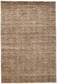 Damask 絨毯 207X304 モダン 手織り 茶/薄茶色 ( インド)