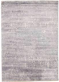 Damask 絨毯 175X246 モダン 手織り 薄い灰色/ベージュ ( インド)