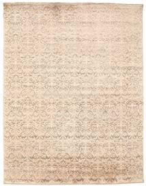 Damask 絨毯 233X301 モダン 手織り ベージュ ( インド)