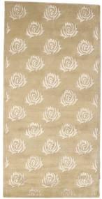 Himalaya 絨毯 101X202 モダン 手織り ベージュ/暗めのベージュ色の ( インド)