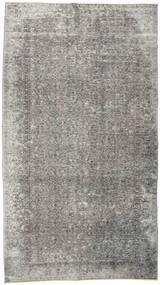 カラード ヴィンテージ 絨毯 152X274 モダン 手織り 薄い灰色/濃いグレー (ウール, トルコ)