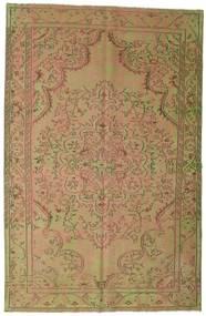 カラード ヴィンテージ 絨毯 183X284 モダン 手織り 薄茶色/ライトグリーン (ウール, トルコ)