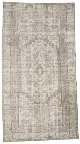 カラード ヴィンテージ 絨毯 152X278 モダン 手織り 薄い灰色/暗めのベージュ色の (ウール, トルコ)