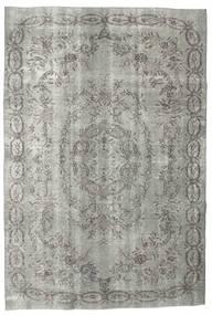 カラード ヴィンテージ 絨毯 187X275 モダン 手織り 薄い灰色/濃いグレー (ウール, トルコ)