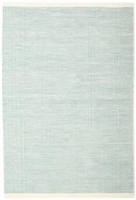Seaby - 青 絨毯 160X230 モダン 手織り ターコイズブルー/ホワイト/クリーム色 (ウール, インド)