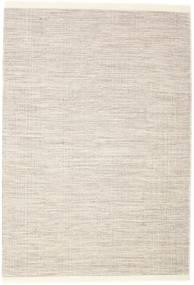 Seaby - 茶 絨毯 160X230 モダン 手織り 薄い灰色/ベージュ (ウール, インド)