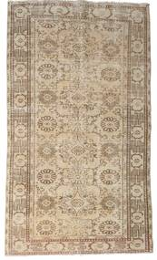 カラード ヴィンテージ 絨毯 155X267 モダン 手織り 薄い灰色/ベージュ (ウール, トルコ)