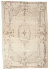 カラード ヴィンテージ 絨毯 192X278 モダン 手織り ベージュ/薄い灰色 (ウール, トルコ)
