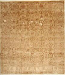 タブリーズ Royal Magic 絨毯 254X292 オリエンタル 手織り 暗めのベージュ色の/薄茶色 大きな ( インド)
